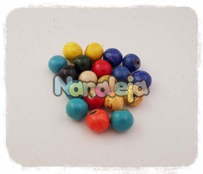 Bolas de cerámica pequeñas intercambiables