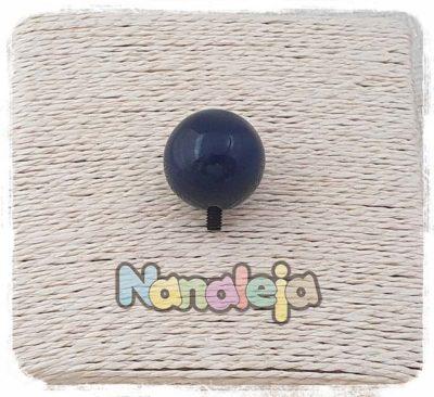 Bola de cerámica azul marino intercambiable